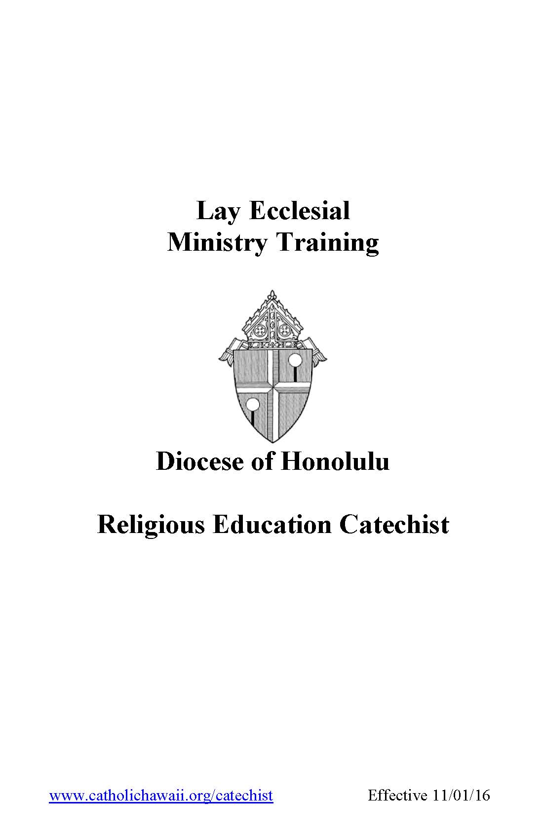 Co cathedral of st theresa of the child jesus catechists catechists certification class 1betcityfo Gallery